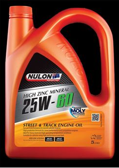 Picture of Nulon 25W60 Premium Street & Track Mineral Engine Oil