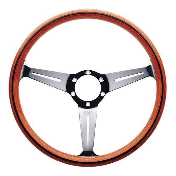 Picture of OMP Monza 360mm Woodgrain