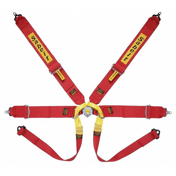 Picture of Sabelt Lightweight Steel Formula 6pt Harness