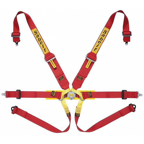 Picture of Sabelt Lightweight Steel Formula HANS 6pt Harness