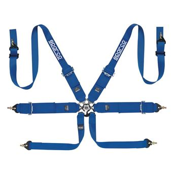 Picture of Sparco 6pt Club Racer HANS Harness
