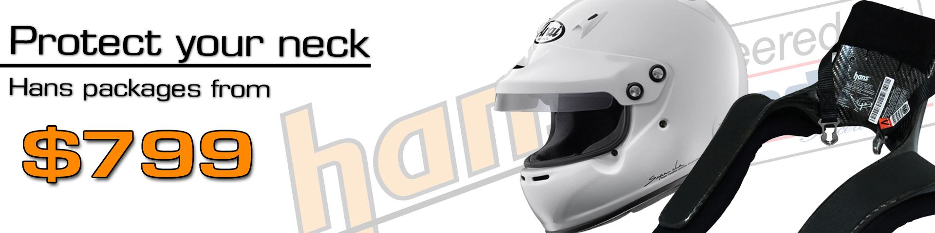 Helmet HANS Packages from $799