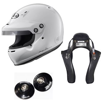 Picture of Arai GP-5W Helmet HANS Device Package