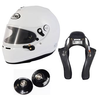 Picture of Arai GP-6S Helmet HANS Device Package