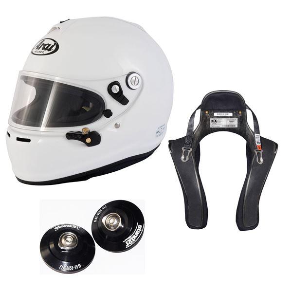 Picture of Arai GP-6S Helmet HANS Device Package
