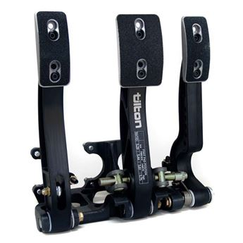 Picture of Tilton 600-Series 3-Pedal Floor Mount Assembly
