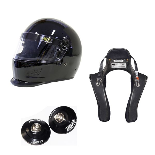 Picture of Velo Duckbill Helmet HANS Package