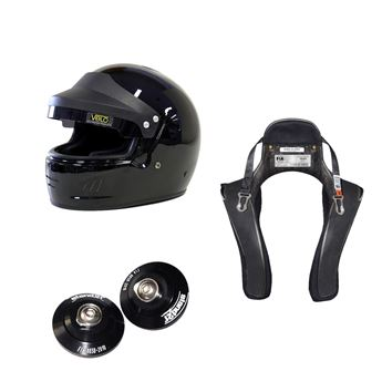 Picture of Velo Full Face Targa Helmet HANS Package