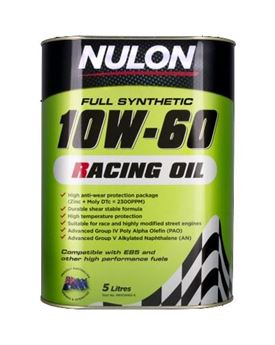 Picture of Nulon 10W60 Racing Oil