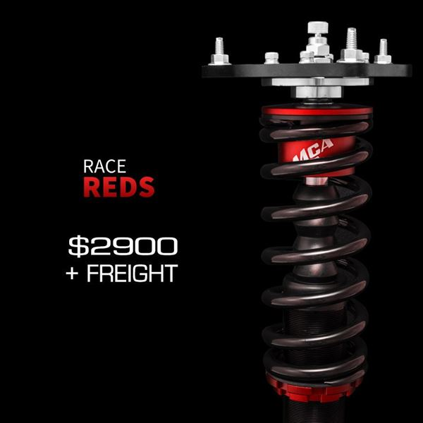 Picture of MCA Race Red Coilovers
