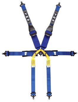 Picture of TRS Newpro Superlight 6 pt Single Seat HANS Harness