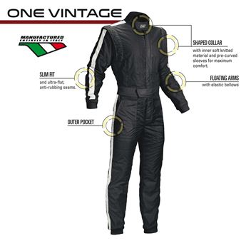 Picture of OMP One Vintage FIA Suit