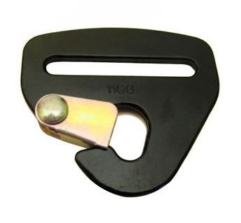 "Picture of 2"" Snap Hook Harness End"