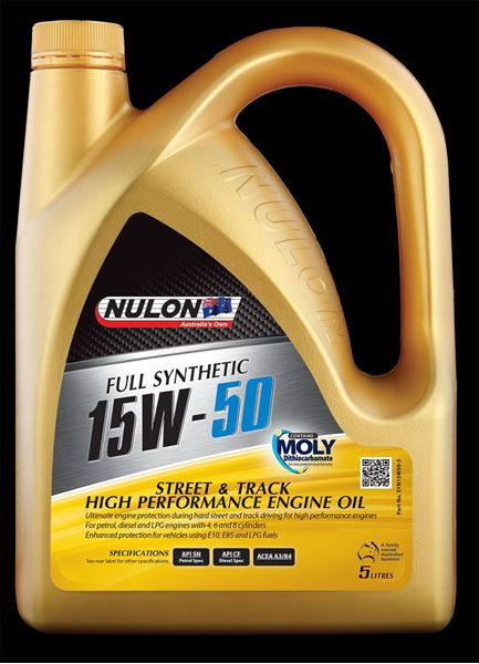Picture of Nulon 15W50 Street & Track Full Synthetic Engine Oil