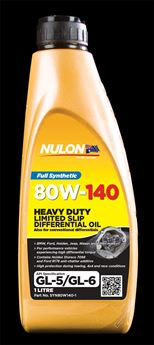 Picture of Nulon Full Synthetic LSD Oil 80W140
