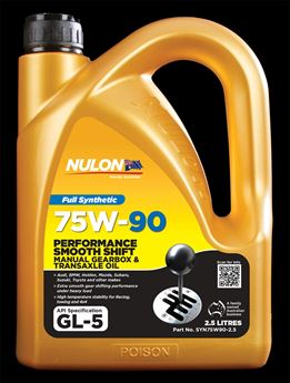 Picture of Nulon Full Synthetic Smooth Shift Gear Oil 75W90