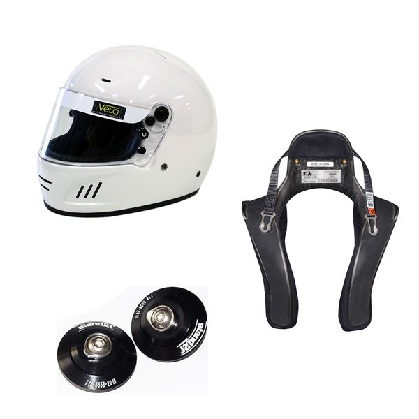 Picture of Velo Full Face Helmet HANS Package