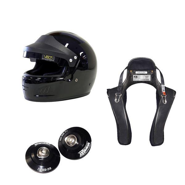 Picture of Velo Full Face Targa Helmet HANS Package