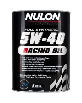 Picture of Nulon 5W40 Racing Oil