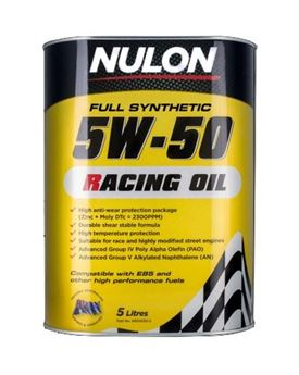 Picture of Nulon 5W50 Racing Oil
