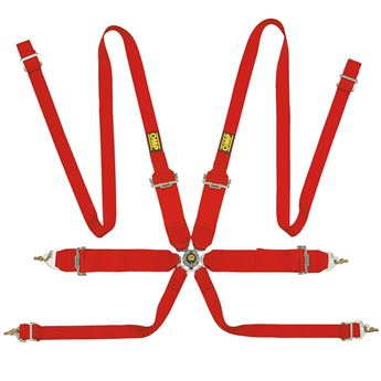 Picture of OMP Harness 0204H - Saloon HANS