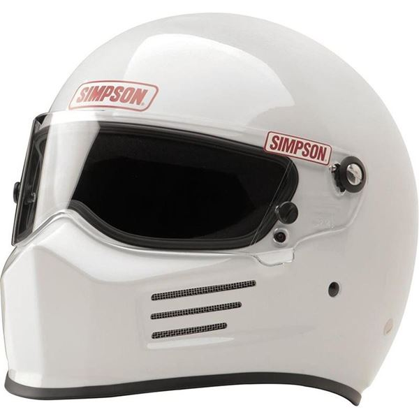 Picture of Simpson Bandit Helmet - White