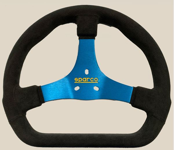 Picture of Sparco 320mm Steering Wheel Black/Blue