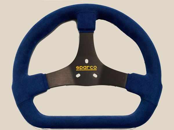 Picture of Sparco 320mm Steering Wheel Blue/Black