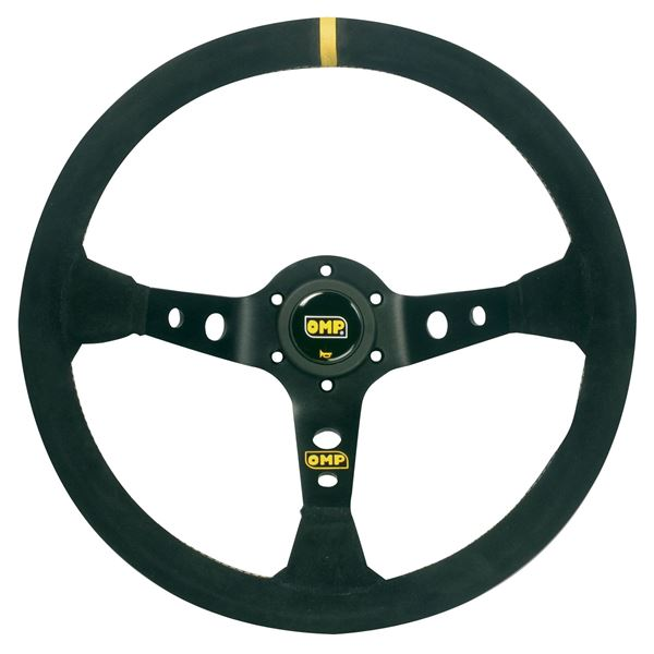 Picture of OMP Corsica 350mm Suede Steering Wheel
