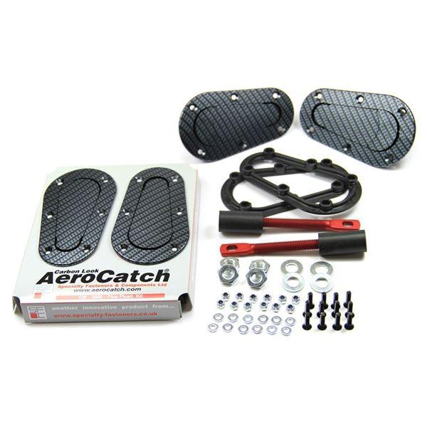 Picture of Aerocatch Plus Flush Non Locking Carbon Look