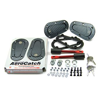 Picture of Aerocatch Plus Flush Locking Carbon Look