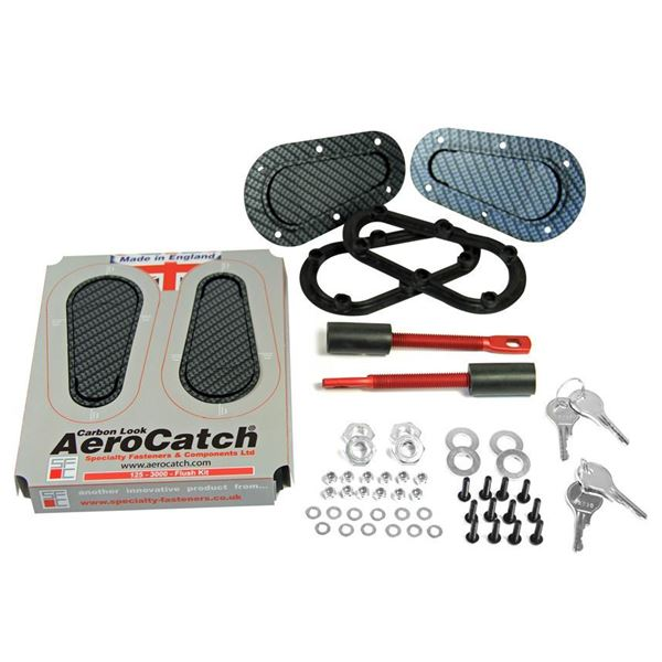 Picture of Aerocatch Flush Non Locking Carbon look