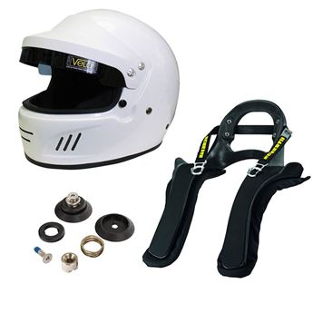 Picture of Velo Full Face Targa Helmet Schroth SHR FHR Package