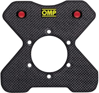 Picture of OMP Carbon Button Plate 4 Button