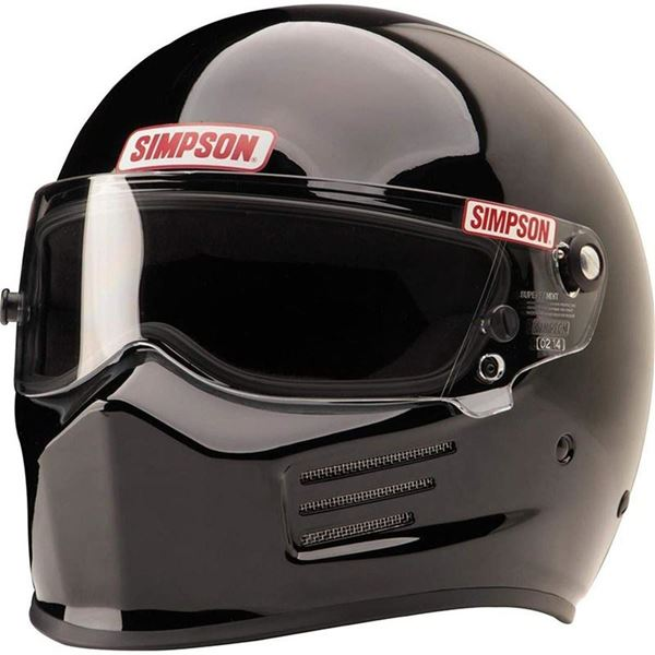 Picture of Simpson Bandit Helmet - Black