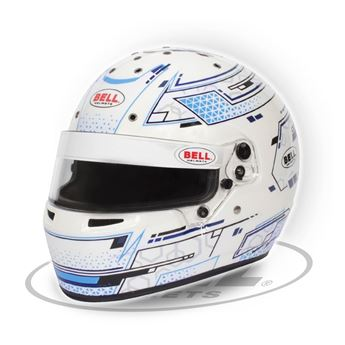 Picture of Bell RS7-K STAMINA WHT/BLUE