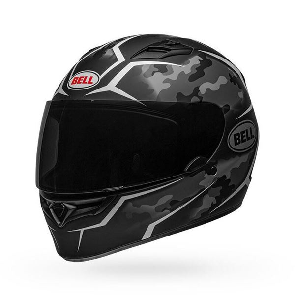 Picture of Bell Qualifier Matte Black Camo Grey