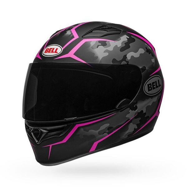 Picture of Bell Qualifier Matte Black Camo Pink
