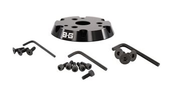 Picture of BG Racing Steering Wheel Adaptor 6 to 3 Bolt