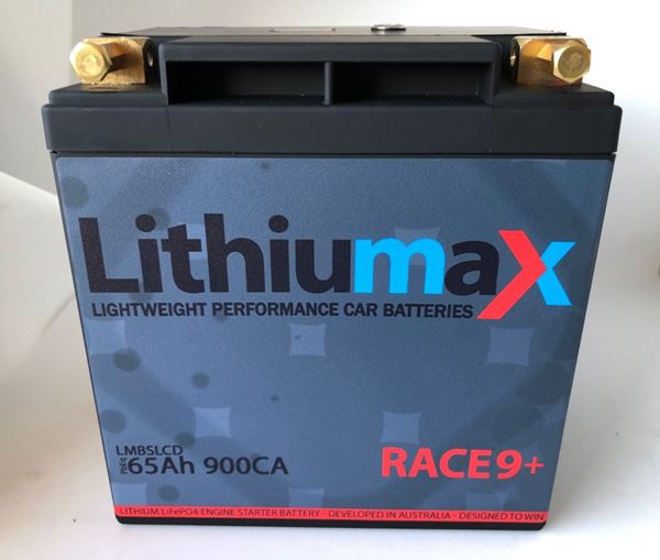 Picture of Lithiumax Race9+ Battery