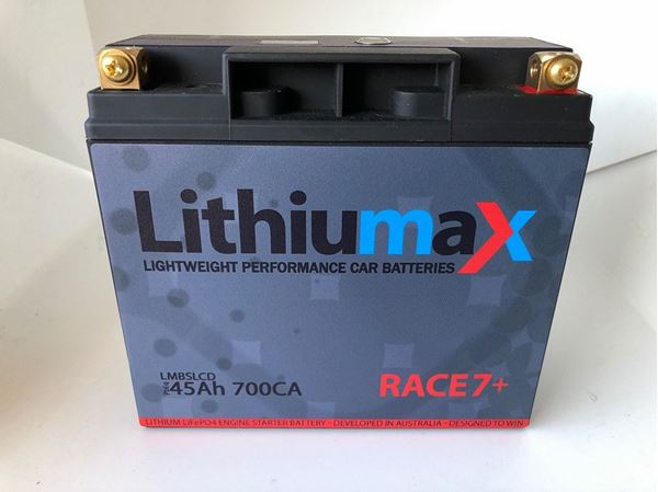 Picture of Lithiumax Race7+ Battery