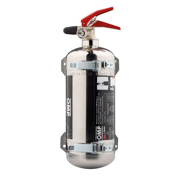 Picture of OMP NOVEC Stainless Steel Fire Extinguisher CAB/323